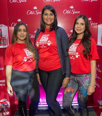 Sarah Bergés, Cristal León e Ivette Méndez.