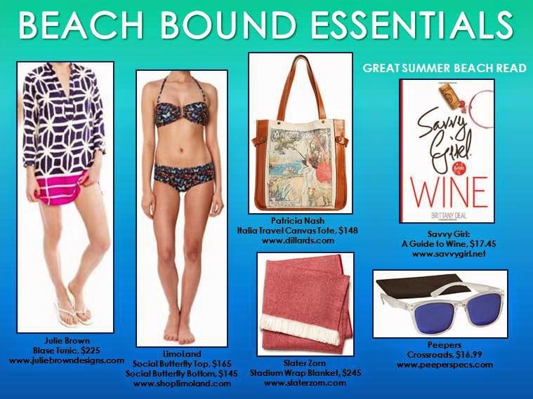 2317bb3043 Beach Bound Essentials 2014 | Fashion Blog by Apparel Search