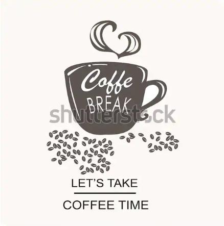 illustration logo caffe