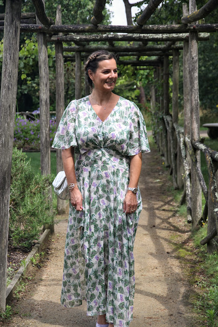 quelle robe pour un mariage bohème chic?, look du jour, maje, robe maje, les petites bulles de ma vie, escarpins cosmoparis
