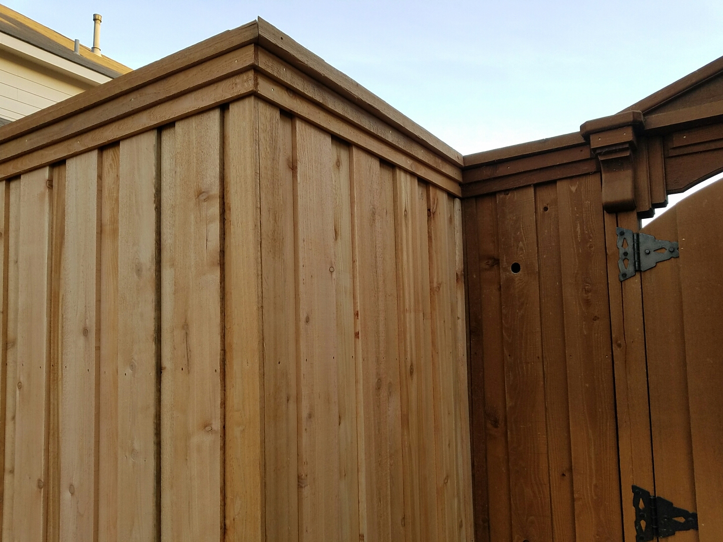 Decorative Fence Installation By Charlie Mike Construction