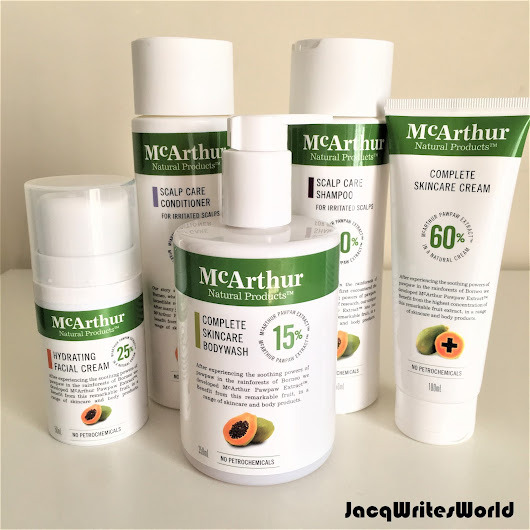 My Review of the McArthur Naturals Skincare range!!!