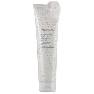 resenha sabonete gel de limpeza facial com carvão renew avon dicas da tia