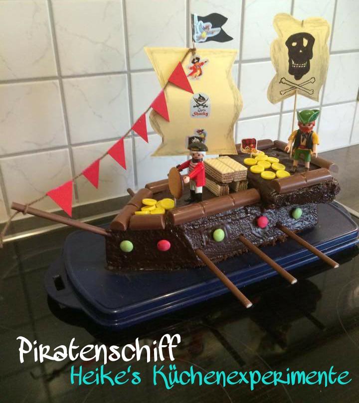Heike S Kuchenexperimente Piratenschiff