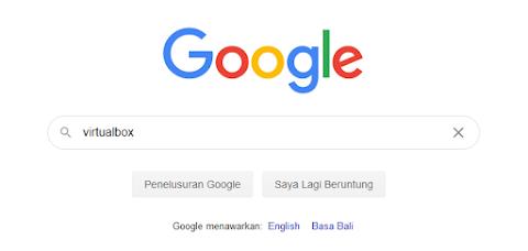 search Virtual Box
