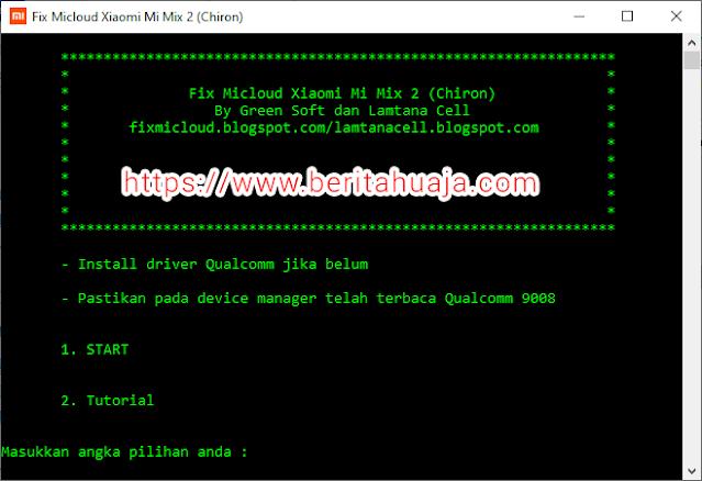 Cara Unlock, Bypass, Remove MiCloud Xiaomi Mi Mix 2 (chiron) GRATIS!