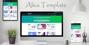 Aliva - Responsive Blogger Template