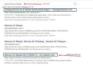 Jasa pembuatan website dengan spesial keahlian page one di google