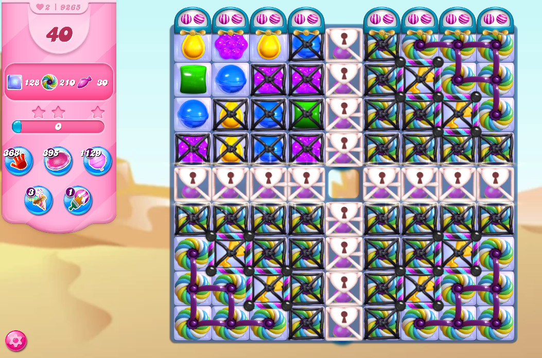 Candy Crush Saga level 9265