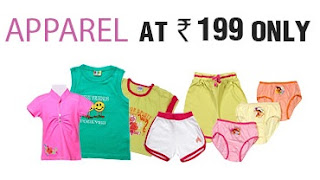 FirstCry: Kids Clothes & Shoes@ Rs.199 Only (Valid till 19th May'13)