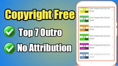 Copyright free YouTube Outro, template,outro maker, template download,technical bishnuji