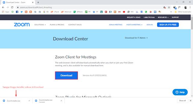 Cara Menggunakan Aplikasi Zoom Desktop di Laptop