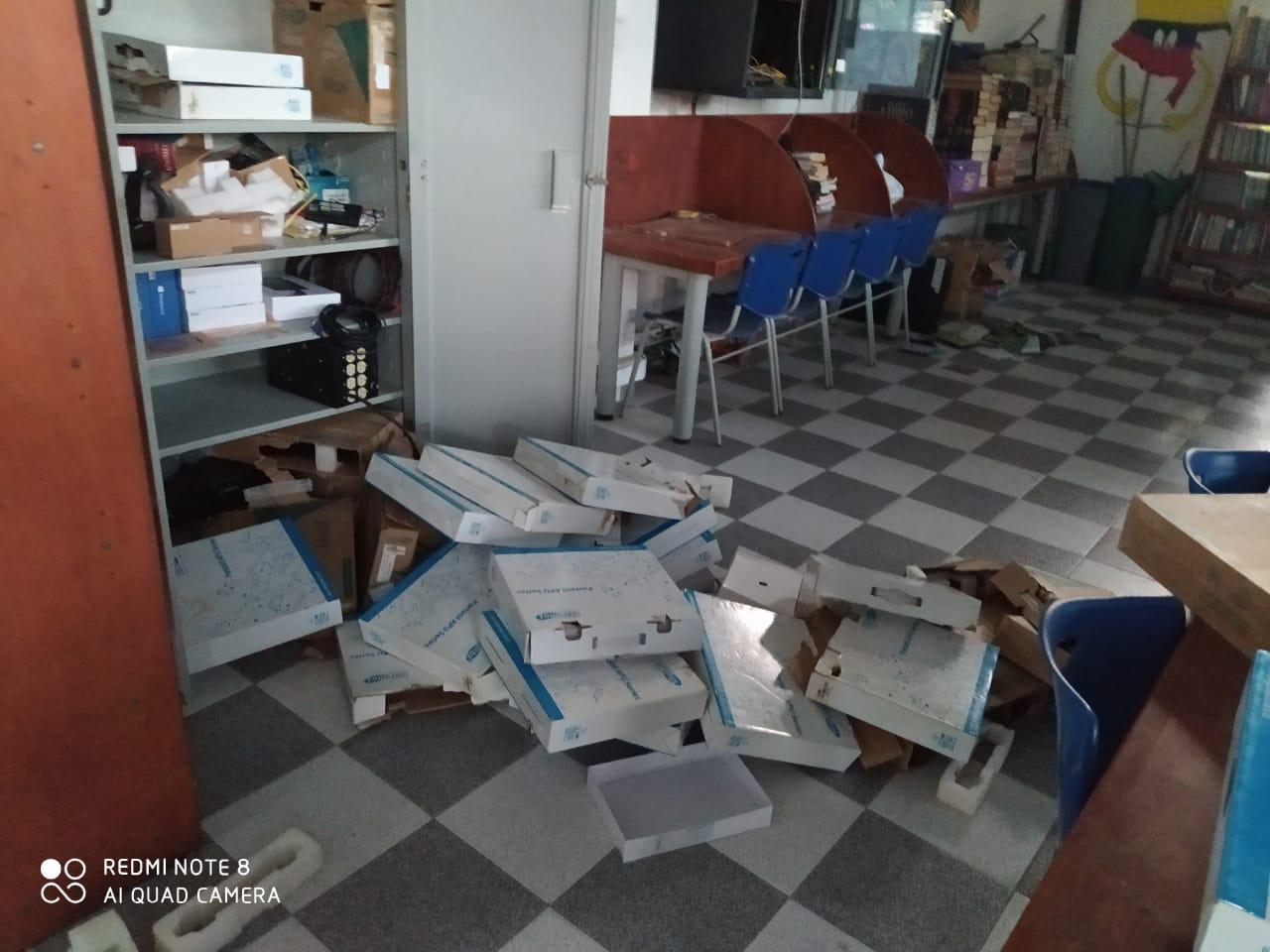 hoyennoticia.com, Roban 30 computadores de la biblioteca del parque Sagrado Corazón de Maicao