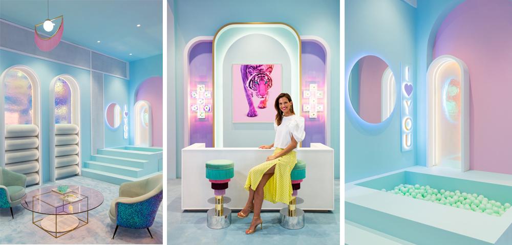 estilo decorativo Miriam Alía Kronos-Homes piscina de bolas tonos pastel
