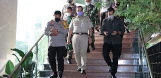 Ini Yang Dibicarakan Anies Baswedan bersama Kapolda Metro Jaya Soal Potensi Adanya Aksi Demonstrasi Susulan