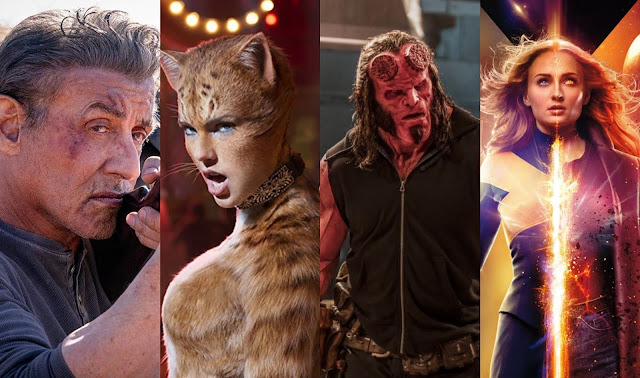 """Cats"", ""Rambo 5"" e ""Hellboy"""