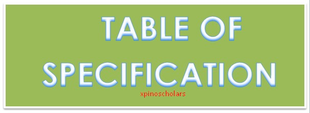 TABLE OF SPECIFICATION (SAMPLE): Technical Drawing, MTN, XpinoData, VTU, Share & Sell, Glo, Airtel, Etisalat, 9mobile, Data, Business, Bulk SMS, Xpino Media Network, Xpino Media, Xpino, MTN SME, SME, Entrepreneur, DStv, Gotv, StarTimes, cheapest, Publicity, Advert, marketing, newspaper review