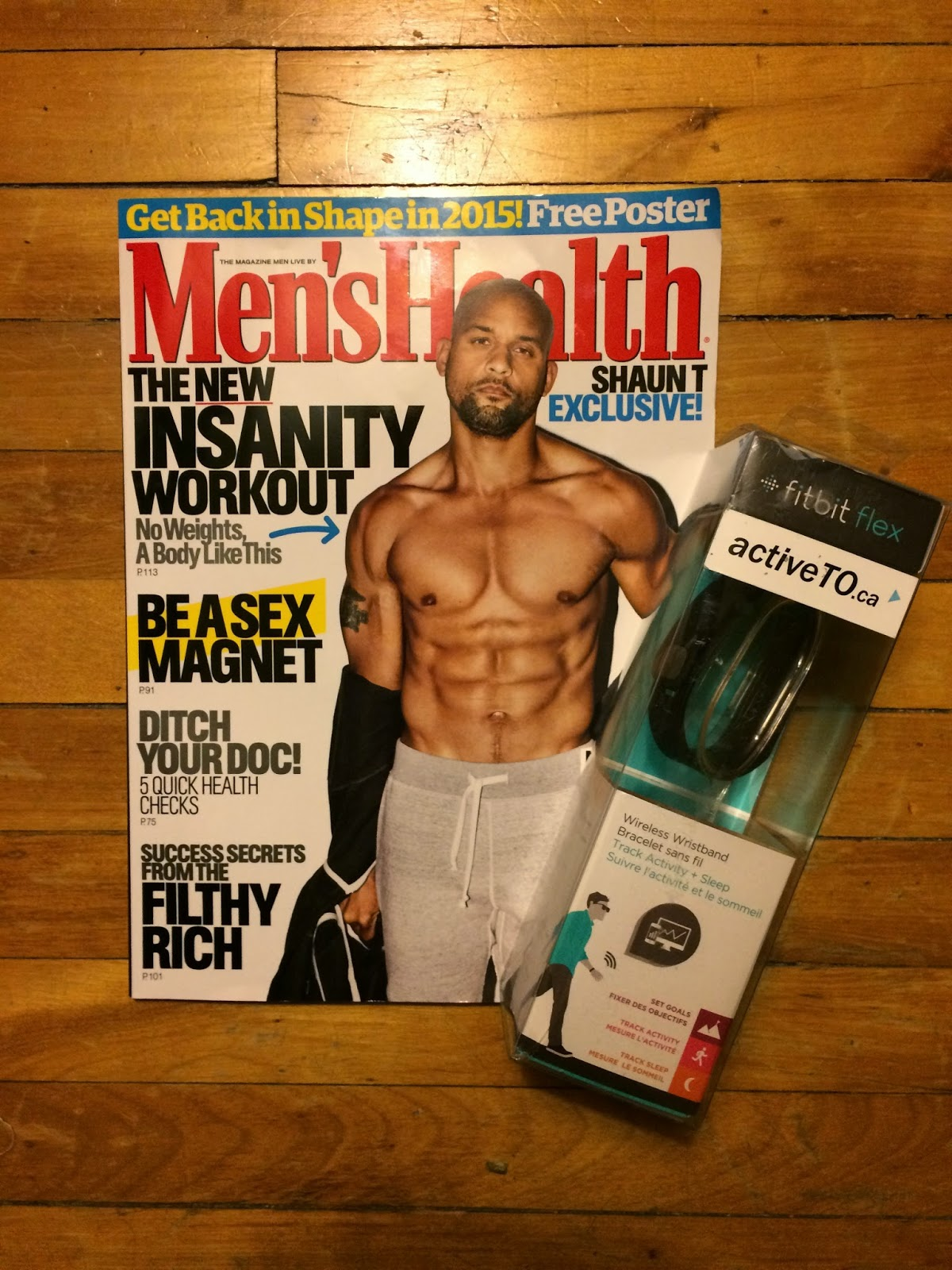 Shaun T Men's Health January 2015
