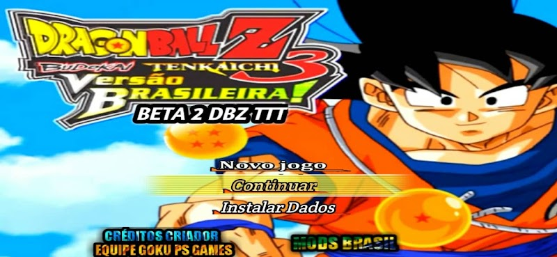 Android PSP Game Dragon Ball Z BT3 Mod with Menu