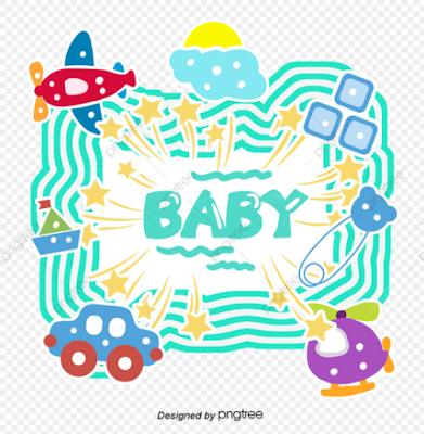 frame biodata bayi