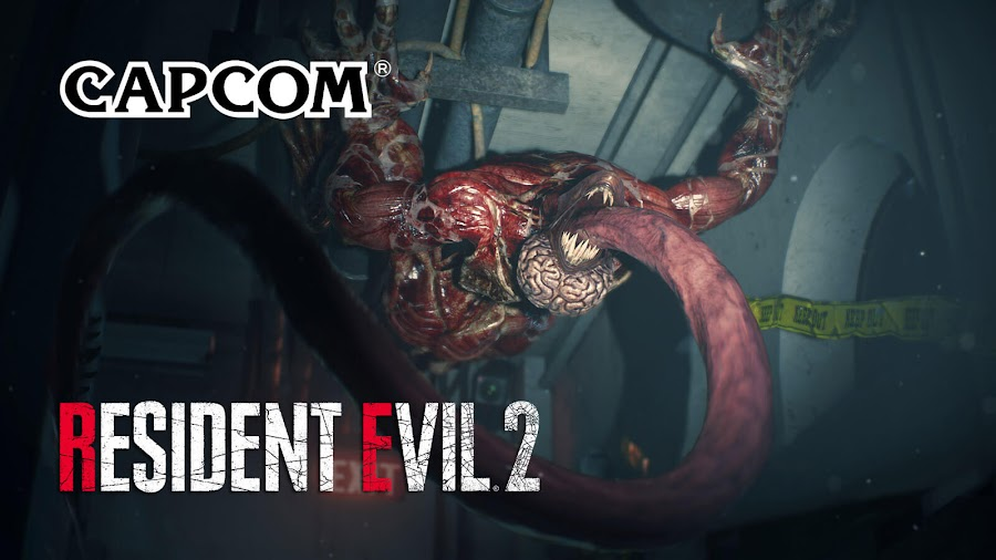 resident evil 2 remake gameplay lickers