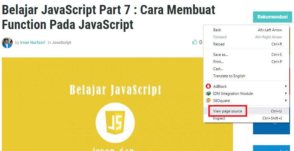 Belajar HTML Dasar Part 1: Pengenalan & Pengertian HTML 1