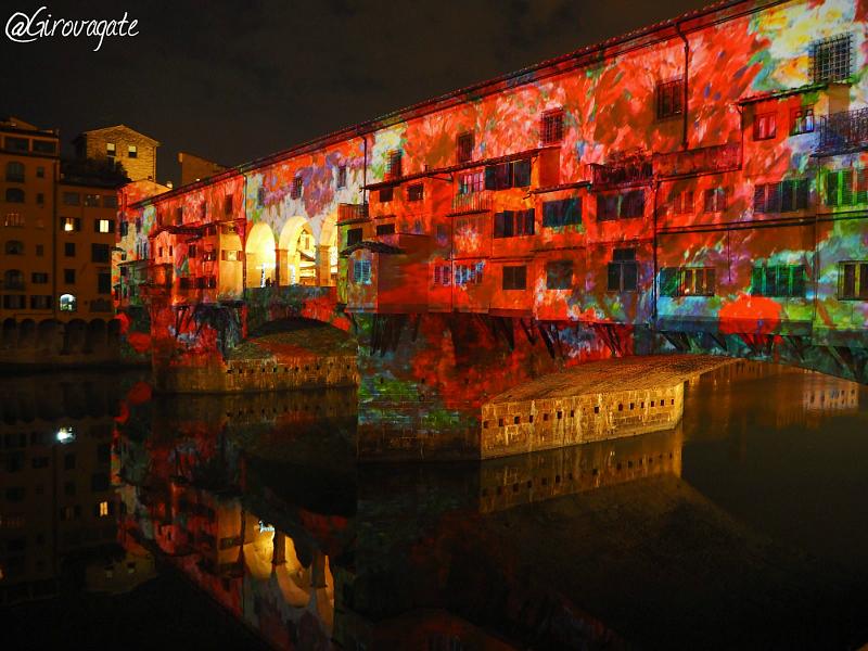 Firenze a natale è f light il festival delle luci girovagate