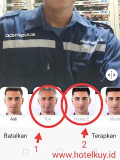 Cara edit foto muka jadi tua