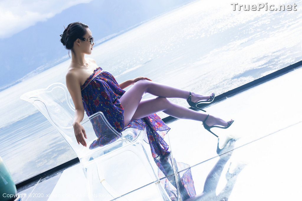 Image XIUREN No.2544 - Chinese Model - 蓝夏Akasha - Purple Queen - TruePic.net - Picture-23