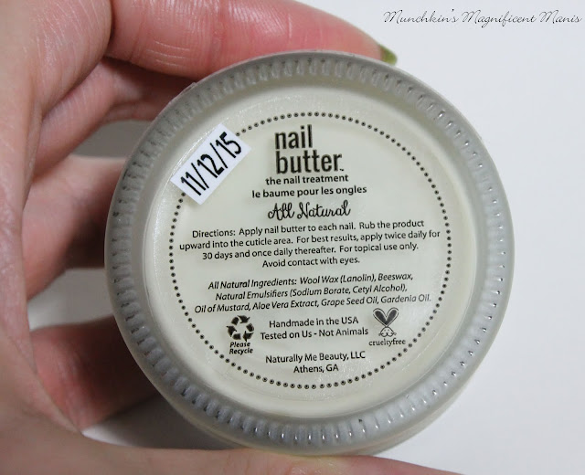 Nail Butter bottom of the jar