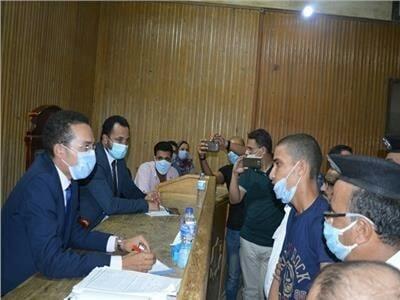 السجن 15 عامًا لمرتكب مذبحة كفر الدوار.. قاتل ابنة عمه وطفليها
