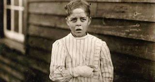 12 Years Old Giles Newsom (1912), photograph by Lewis Hine.