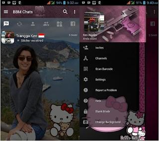 BBM Hello Kitty V3.2.0.6 Apk