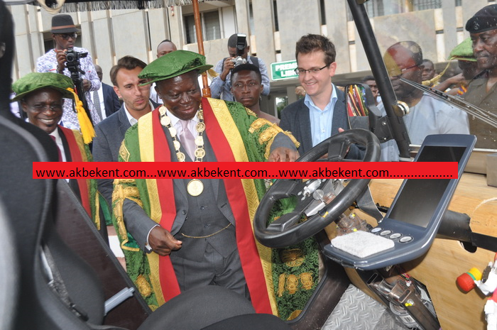KNUST constructs solar-powered 4X4 vehicle