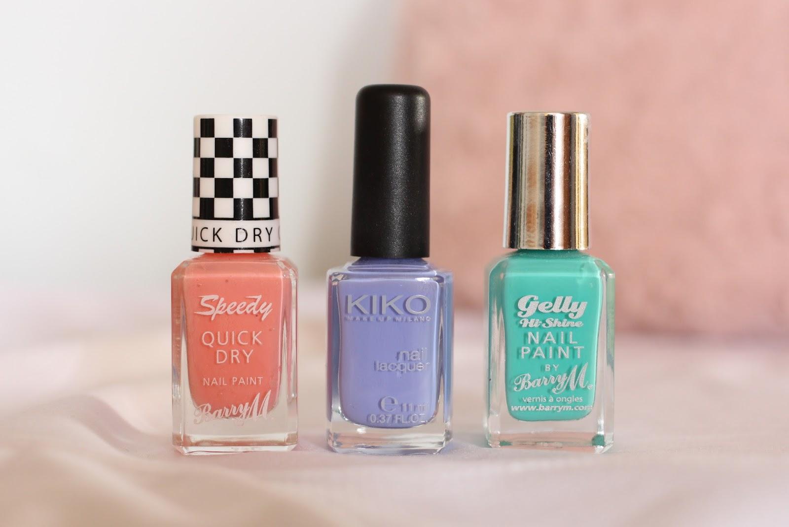 Top 3 Pastel Nail Polishes