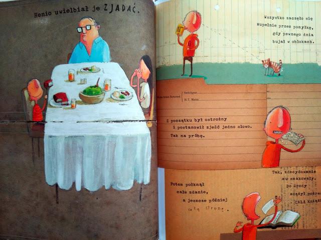 Przykładowe strony z książki