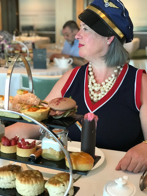 Afternoon tea, P and O cruises, Eric Lanlard tea pic: Kerstin Rodgers/msmarmitelover