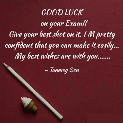 All The Best For Exam Quotes
