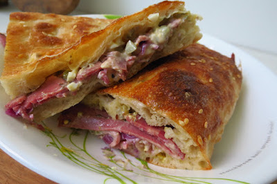 Pickle Bakery, pastrami pide