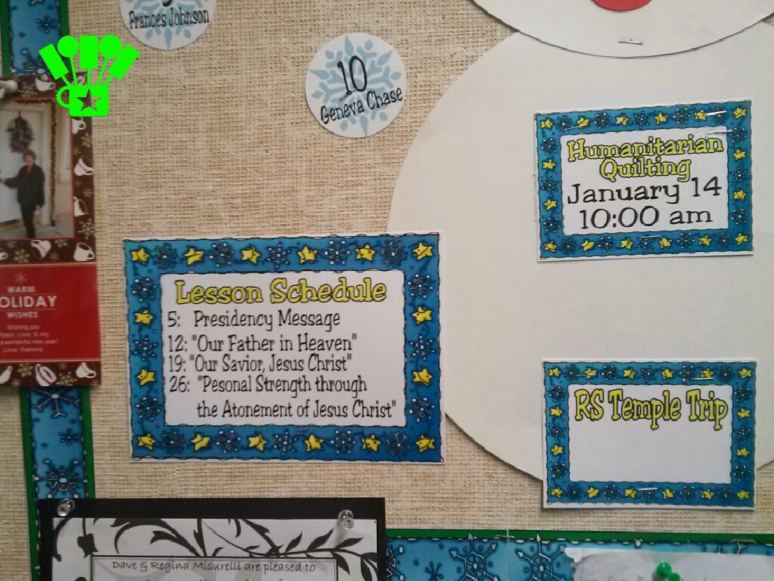 Snowman January Bulletin Board And Printables