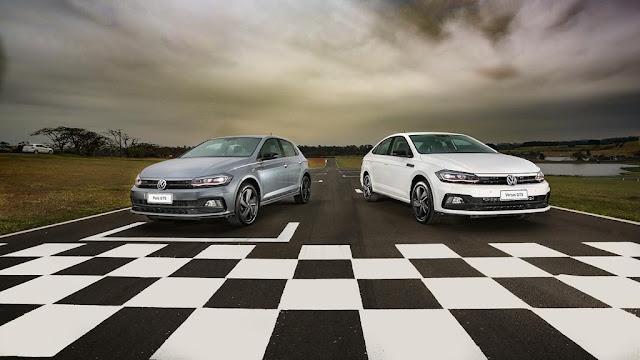VW Polo e Virtus GTS automáticos chegam às lojas em 2020