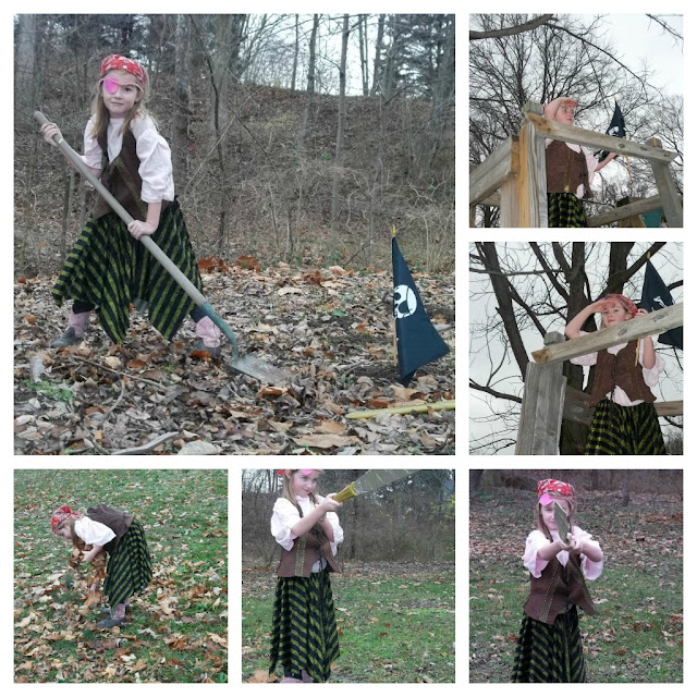 Pirate Princess for Outdoor Play