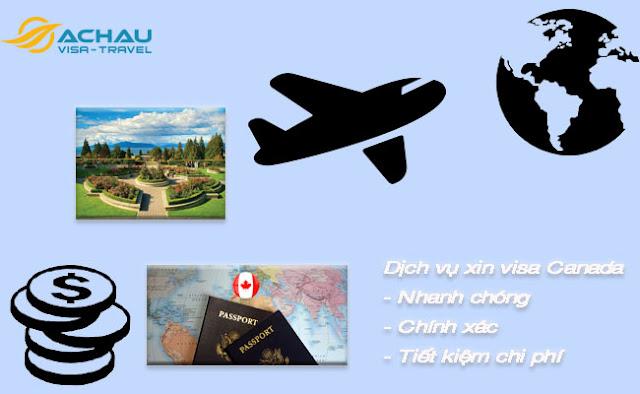 Xin visa Canada ở đâu ?