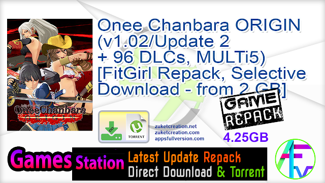 Onee Chanbara ORIGIN (v1.02 Update + 2 96 DLCs, MULTi5) [FitGirl Repack, Selective Download – from 2 GB]