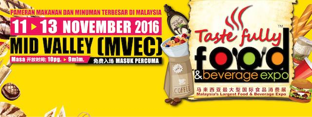 16th Taste Fully Food & Beverage Expo 2016 Coming This Week