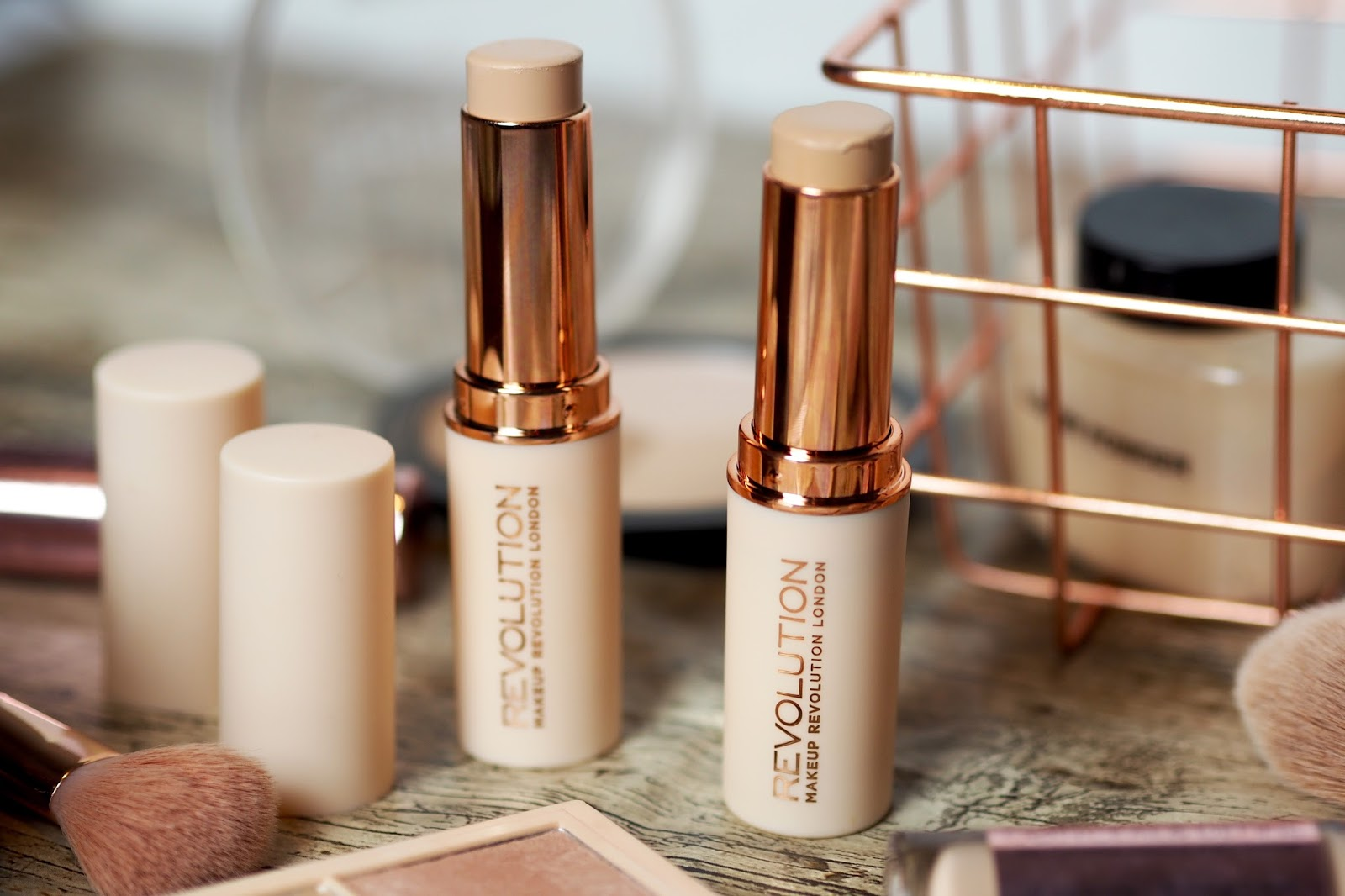 Not Your Average Makeup Revolution Fast Base Foundation