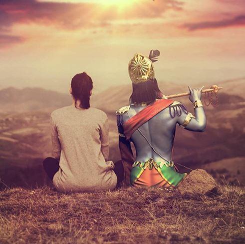 Krishna love DP