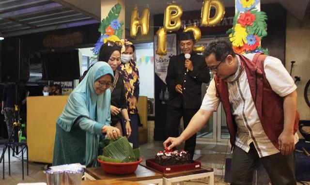 Peringati HUT ke-12 RKSB Maja FM Gelar Syukuran
