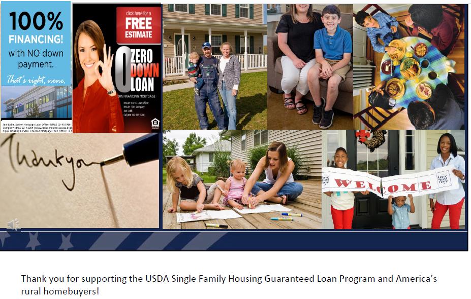 Kentucky USDA Mortgage Lender for Rural Housing Loans