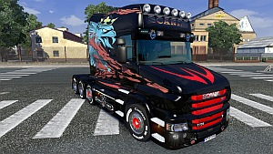 Scania T Longline skin mod by Mak-Kyver
